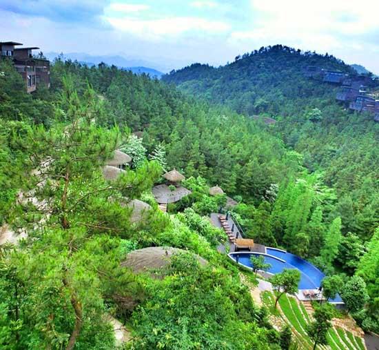 案例:浙江裸心谷乡村民俗度假村景观