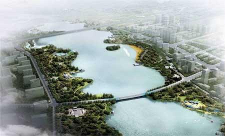 开封市黑岗口调蓄水库园林景观工程设计