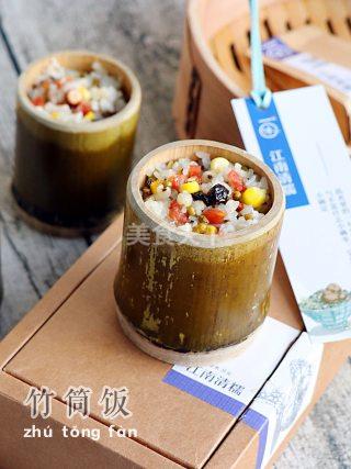 研学:腊肠杂粮竹筒饭的手工做法