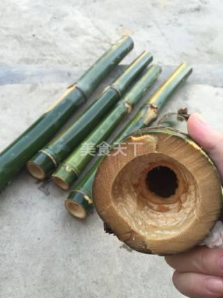 研学园:野外竹筒饭的手工做法