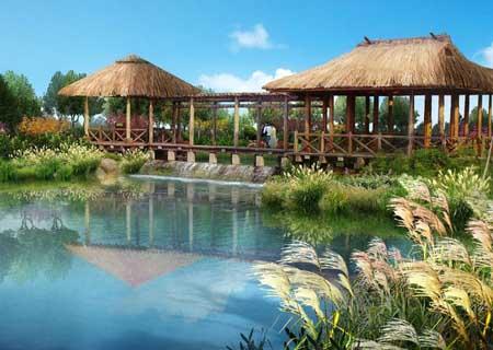 天津滨海旅游区海堤公园景观设计