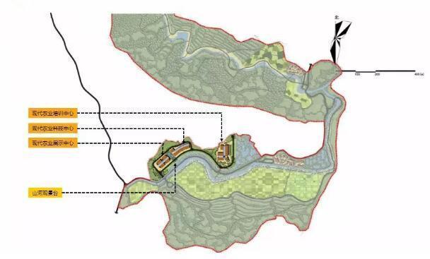 设计案例分析:如何规划现代农业示范园区?