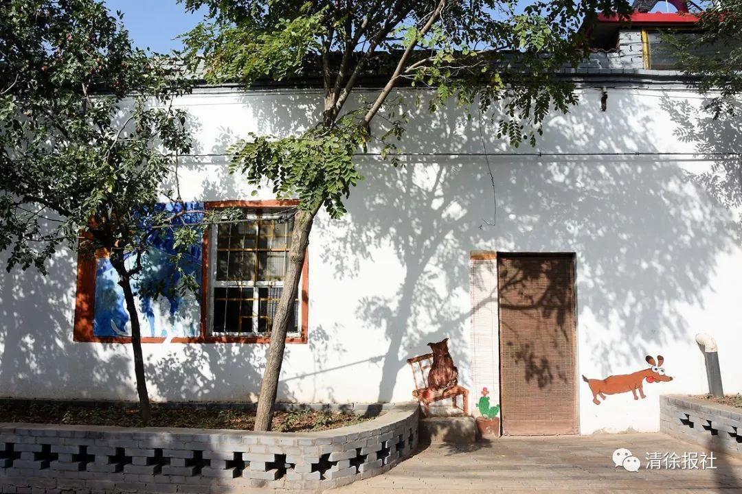 水泥墙涂鸦_山西网红乡村:艺术+美丽乡村网红 – 69农业规划设计.兆联顾问公司