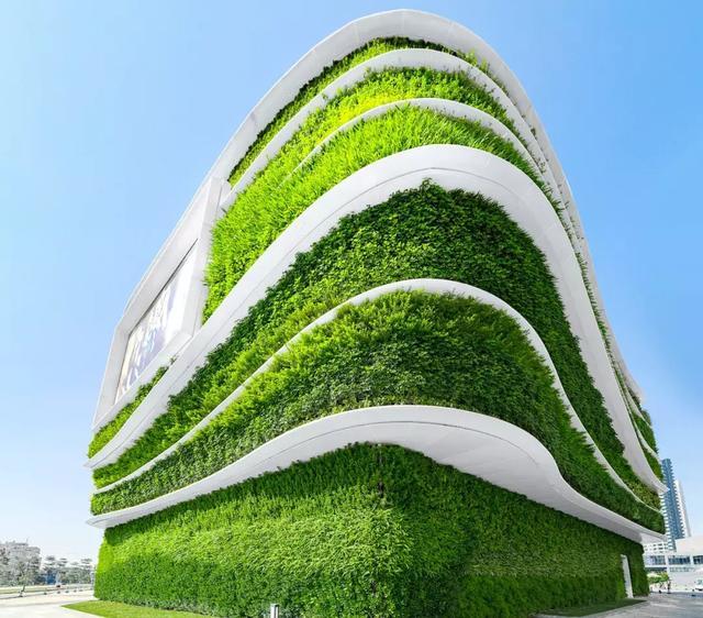 广州建成世界最大垂直绿化项目,重新定义建筑立面!