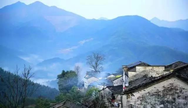 安徽海拔最高的古村,每天与云海相伴,如梦如幻