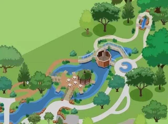 儿童花园 | 世界上最精致的儿童互动花园,乐趣无限