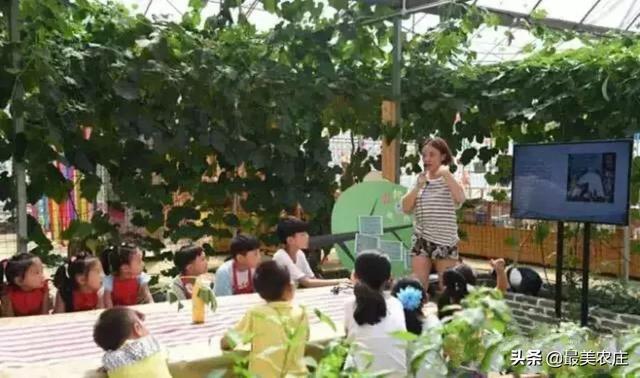 食育课堂,农庄的新派吸金大法