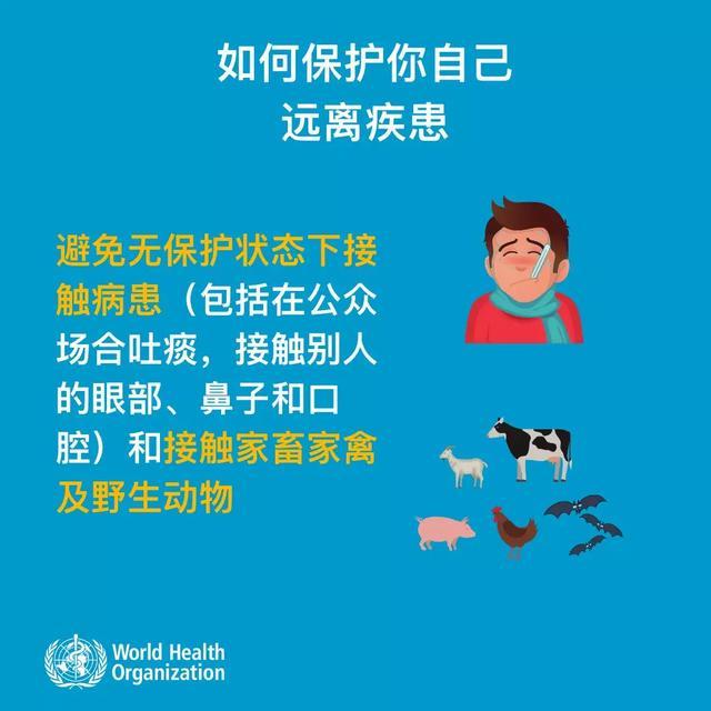 WHO:大众如何预防新型冠状病毒