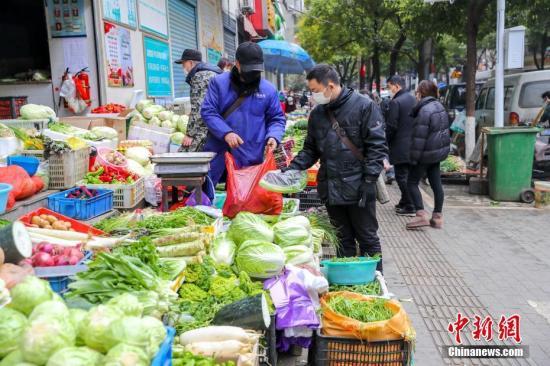 农业农村部:加强与武汉等城市菜篮子产品点对点对接