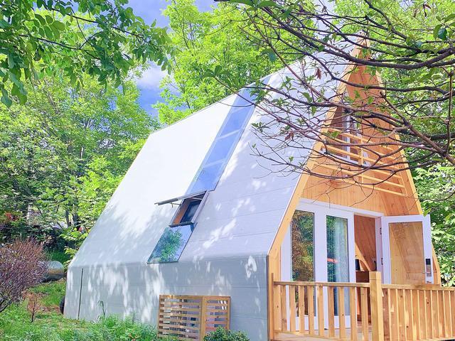 实拍15天建成的木屋民宿,成本才7万?效果简直惊艳