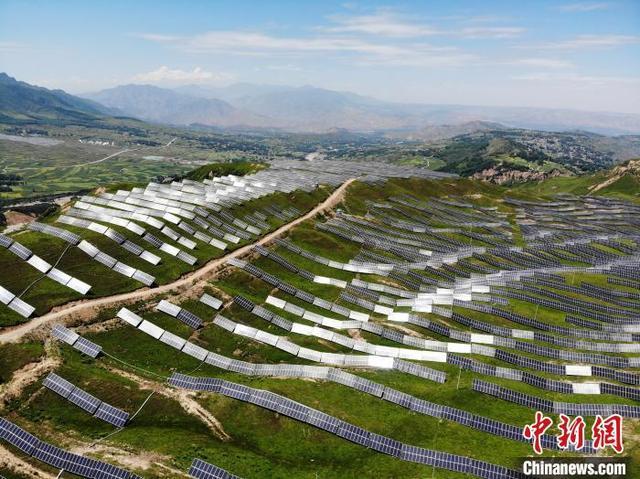 """甘肃无围墙""""养殖场"""":""""光伏养鸡""""成贫困户增收新产业"""