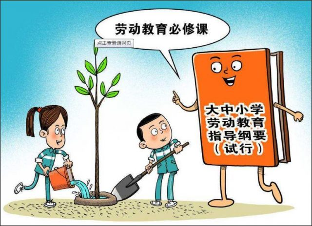 终结形式化的劳动教育!广州推进中小学(幼儿园)劳动教育实践经验